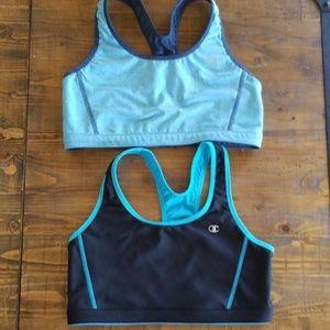 Bundle: Champion reversible sports bras